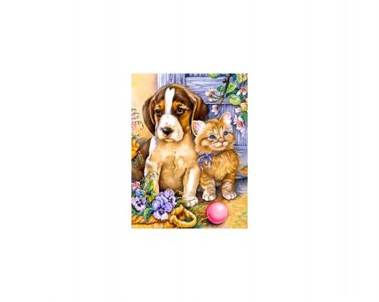 Diamond Embroidery/ Diamond Painting - Best friends