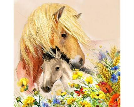 Diamond Embroidery/ Diamond Painting - Horse care