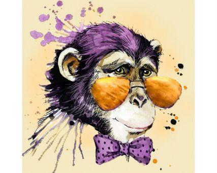 Diamond Embroidery/ Diamond Painting - Mr. Monkey