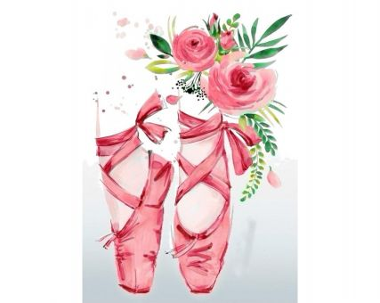 Diamond Embroidery/ Diamond Painting - Pink hopes