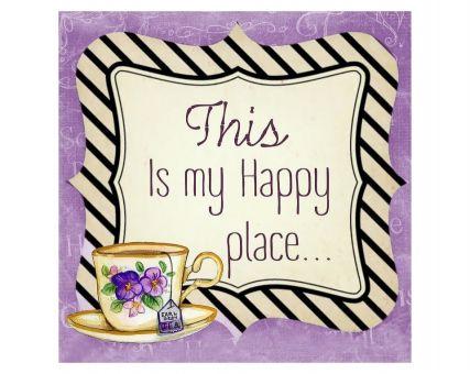 Diamond Embroidery/ Diamond Painting - Happy place
