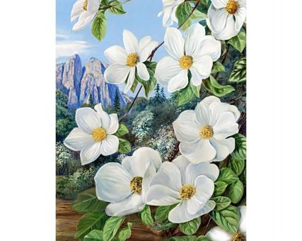 Diamond Embroidery/ Diamond Painting - Spring in the mountains