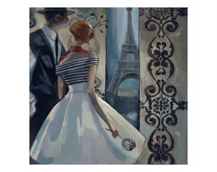 Diamond Embroidery/ Diamond Painting - Spring in Paris