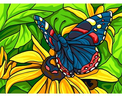 Diamond Embroidery/ Diamond Painting - Butterfly