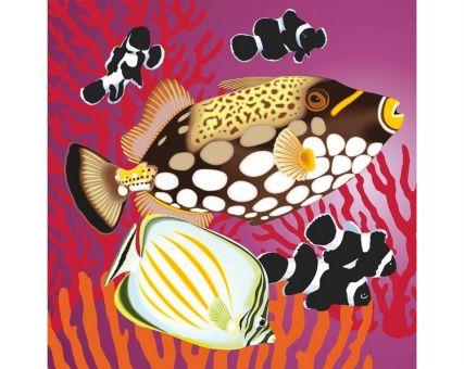 Diamond Embroidery/ Diamond Painting - Fish