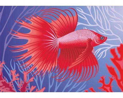 Diamond Embroidery/ Diamond Painting - Exotic fish