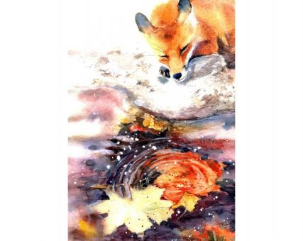 Diamond Embroidery/ Diamond Painting - Foxy