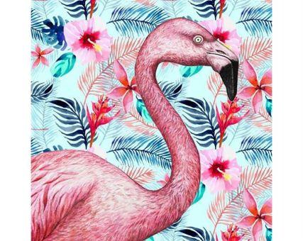 Diamond Embroidery/ Diamond Painting - Exotic flamingo