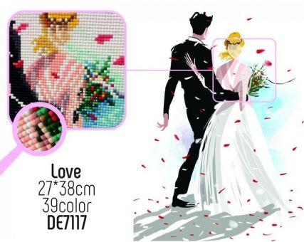 Diamond Embroidery/ Diamond Painting - Love
