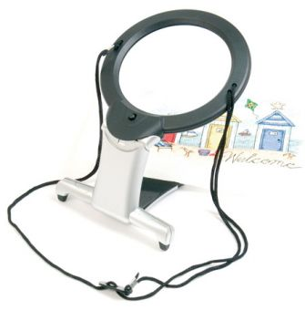 2 in 1 Illuminated Hands-Free Magnifier (LED)