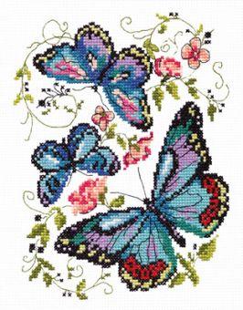 CHUDO IGLA - BLUE BUTTERFLIES