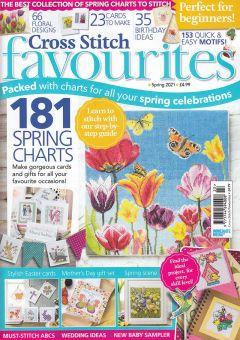 Cross Stitch Favourites - 181 Frühlingshafte Designs zum Sticken