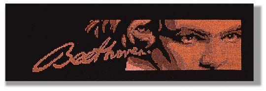 Ludwig van Beethoven Collection - crimson