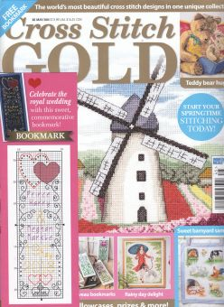 Cross Stitch Gold - May June 2018
