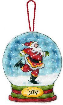 Dimensions - Joy Snow Globe Ornament