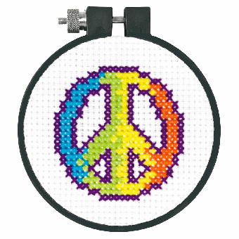 Dimensions Learn-A-Craft - Rainbow Peace