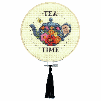 Dimensions Learn-A-Craft - Tea Time