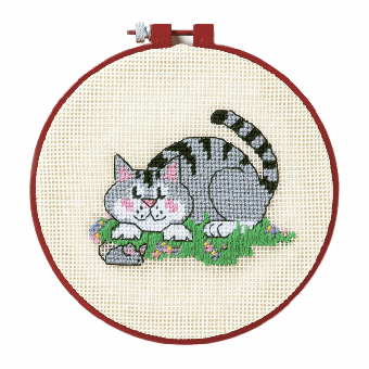 Dimensions Learn-A-Craft - A Cat and a Mouse