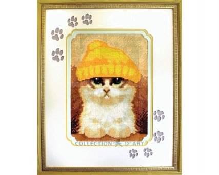 Diamond Embroidery/ Diamond Painting - Cute kitten