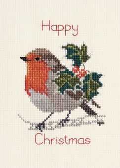 Derwentwater Designs - Holly And Robin