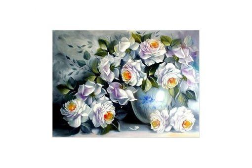 Diamond Painting Artibalta - White Roses