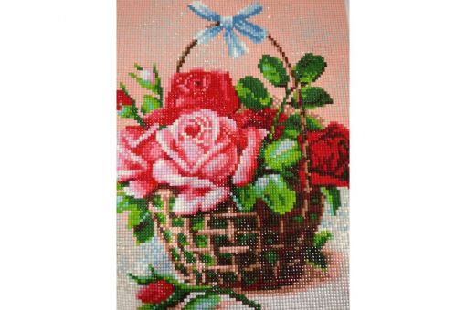Diamond Painting Artibalta - BASKET OF ROSES