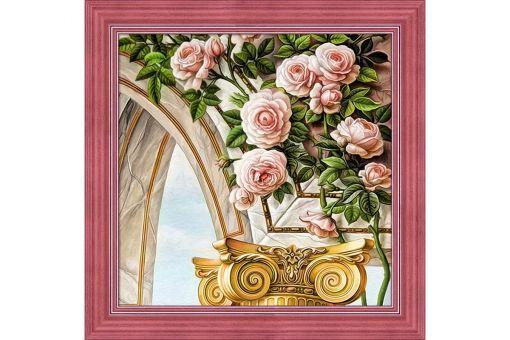 Diamond Painting Artibalta - ARCH AND ROSES