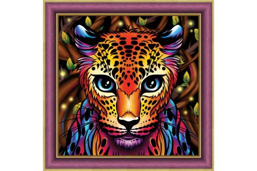 Diamond Painting Artibalta - RAINBOW LEOPARD