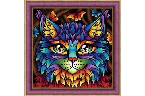 Diamond Painting Artibalta - RAINBOW CAT