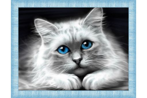 Diamond Painting Artibalta - BLUE-EYED CAT