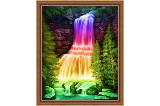 Diamond Painting Artibalta - RAINBOW WATERFALL