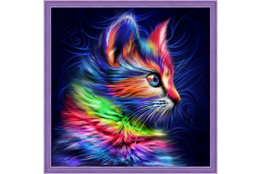 Diamond Painting Artibalta - COLOURFUL KITTEN
