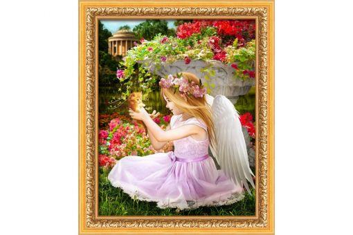 Diamond Painting Artibalta - ANGEL IN THE GARDEN
