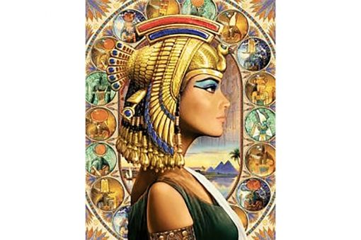 Super SALE Diamond Painting Wizardi - QUEEN OF EGYPT