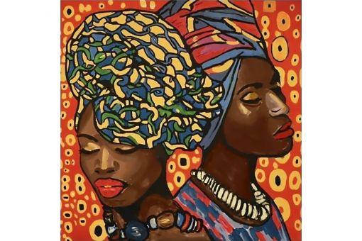 Diamond Painting Wizardi - AFRICAN FASHION