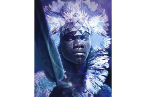 Diamond Painting Wizardi  - KING OF AFRICA