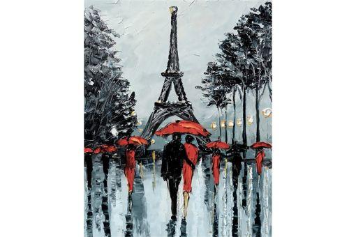 Diamond Painting Wizardi - PARIS IN RAIN