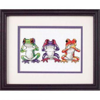 Dimensions - Tree Frog Trio