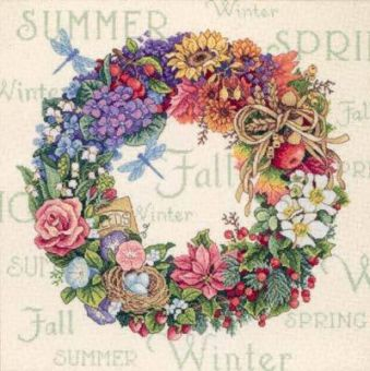 Dimensions Gold Collection - Wreath of all Seasons
