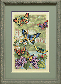 Dimensions Gold Collection - Butterfly Forest