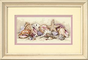 Dimensions Gold Petites - Seashell Treasures