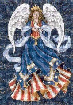 Dimensions Gold Petites - Patriotic Angel