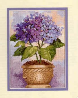 Dimensions Gold Petites - Hydrangea In Bloom