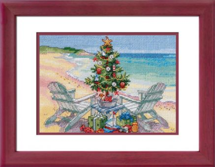 Dimensions Gold Petites - Christmas On The Beach
