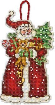 Dimensions - Santa Ornament