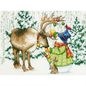 Dimensions - Ornamental Reindeer