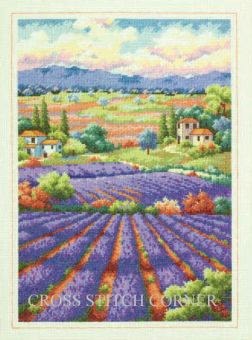Super SALE Dimensions Gold Collection - Fields of Lavender