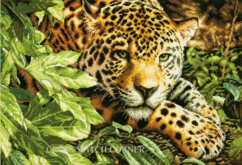 Dimensions Gold Collection - Leopard in Repose