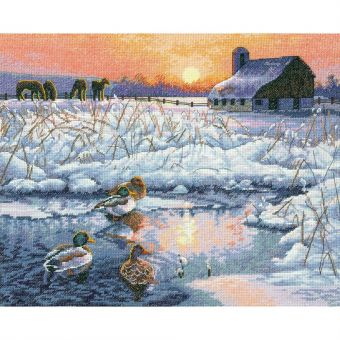 Super SALE Dimensions Gold Collection - Winter Morning