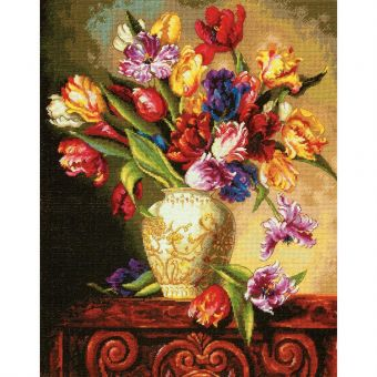 Dimensions Gold Collection - Parrot Tulips